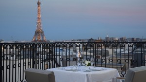 Eiffel Tower - Peninsula Paris Hotel