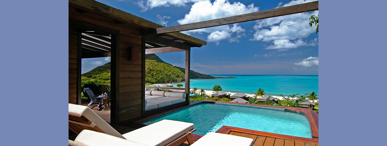 Hermitage Bay Antigua - pool